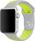 Ремешок COTEetCI W12 (WH5214-TS-YL) для Apple Watch series 2/3/4 42/44mm (Silver/Yellow)