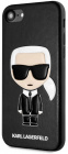 Чехол Karl Lagerfeld PU Leather Iconik (KLHCI8IKPUBK) для iPhone 7/8/SE 2020 (Black)