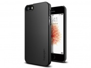 Чехол SGP Thin Fit для iPhone 5/5s/SE (Black)