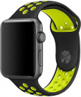 Ремешок COTEetCI W12 (WH5217-BK-YL) для Apple Watch series 2/3/4 42/44mm (Black/Yellow)