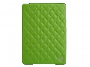 Чехол Jison Quilted Leather Cover для iPad Air (Green)