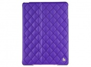 Чехол Jison Quilted Leather Cover для iPad Air (Purple)