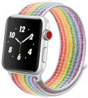 Ремешок COTEetCI W17 Magic Tape (WH5225-RB) для Apple Watch Series 2/3/4 38/40mm (Rainbow)