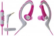 Гарнитура Audio-Technica ATH-SPORT1iS (Pink)