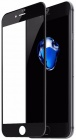 Защитное стекло Baseus Silk-screen Tempered Glass Film для iPhone 8 (Black)