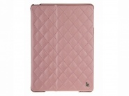 Чехол Jison Quilted Leather Cover для iPad Air (Pink)