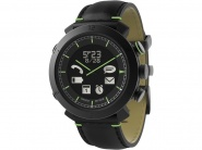 Умные часы Cogito Classic Watch 2.0 Leather для iOS и Android (Black)