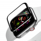 Защитное стекло Baseus Full-screen Curved Tempered Glass (SGAPWA4-H01) для Apple Watch series 4 44mm (Black)