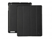 Чехол Jison Smart Leather Case для iPad 2/3/4 (Black)