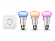 Умная лампа Philips 464495 Hue White and Color Ambiance A19 Starter Kit
