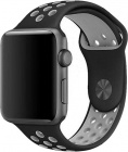 Ремешок COTEetCI W12 (WH5217-BK-GY) для Apple Watch series 2/3/4 42/44mm (Black/Grey)