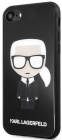 Чехол Karl Lagerfeld Double Layer (KLHCI8DLFKBK) для iPhone 7/8/SE 2020 (Glitter Black)