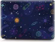 Накладка i-Blason Cover для MacBook Air 13 A1932 (Cartoon space)