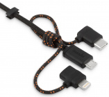 Кабель Moshi 3 in 1 Universal Cable 1m 99MO023047 (Black)